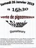 Vente F-O-L Le 26 Janvier 2019 a 16h30 Derniére ligne droite