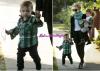 Nicole avec ses adorables enfants :)