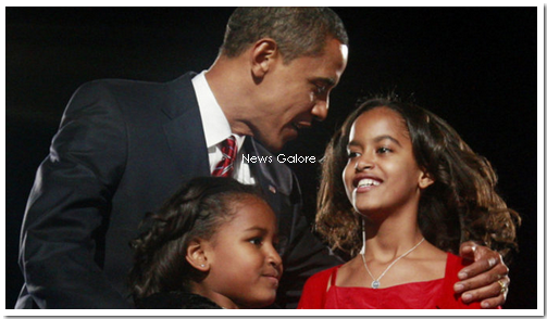 Barack Obama Touche Pas A Mes Filles L Actualite People C Est