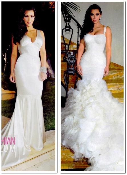Kim Kardashian Decouvrez Sa Robe De Mariee Et Ses Robes D