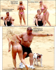 Candids : Ice-T & sa femme, Coco, se sont envolés vers le Mexique, pour ses belles plages privés et désertes . Et heureusement que c'était désert car ces deux là auraient pû en traumatiser plus d'un . C'était du lourd !