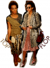 Solange Knowles :  Style ethnique lors d'une soirée organisé par Vogue et style de vieille, que je ne serais définir, à la sortie d'un magasin Chanel : Solange touche à tout en ce qui concerne le style ... Soit on aime soit on aime pas ...