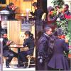 Kelly Rowland : Elle était de passage à Paris pour le tournage de son nouveau clip Keep It Between Us, en compagnie de Lance Gross, un acteur américian . Et le moins que l'on puisse dire c'est qu'elle a l'air de bien s'amuser avec ce beau black !
