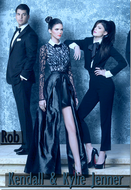 Après celui des Obama, découvrez le portrait de famille un peu spécial de la famille Kardashain/Jenner