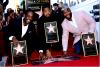 """Boyz II Men : Après plus de 20 ans d'une brillante carrière sur la scène musicale, le célèbre groupe de R&B ont enfin leur étoile sur le célébrissime Walk of Fame ! """"Je peux difficilement décrire mon bonheur. C'est l'un des plus beaux jours de ma vie. Je remercie tous nos fans, que nous appelons affectueusement nos soldats"""", a déclaré Shawn Stockman. Nathan Morris a quant à lui déclaré : """"Nous avons traversé tellement de choses, connu des hauts et des bas. Ce qu'il y a de beau à être ici, c'est que je sais que ces mecs (Shawn Stockman et Wanya Morris) envisagent de la même manière que moi la musique, l'amour et Dieu, et c'est ce qui nous unis""""."""
