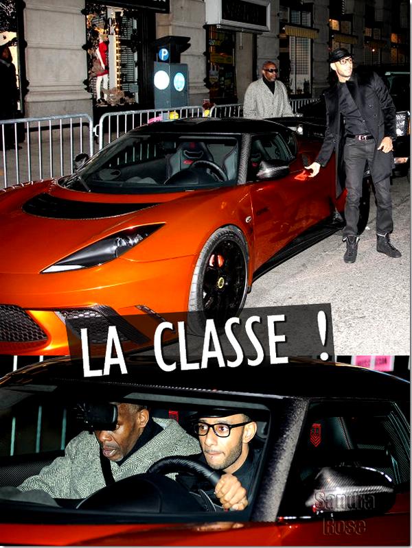 Jay-Z : Il a fait sa première apparition officiel depuis la naissance de sa fille, à la ré-ouverture de son club 40/40, mais bien sûr sans Beyonce ! Mais si il n'y avait pas Beyonce, il y avait Ashanti, Swizz Beatz, dont l'arrivée a fait beaucoup parlé puisqu'il est arrivée dans une Lotus Evera GTE édition limitée ( rien qu'ça ) et enfin le producteur Spike Lee s'est présenté dans un survêt' bleue immonde !