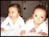 Mariah Carey & Nick Cannon : Tout le monde sait que le bébé à l'honneur aujourd'hui n'est autre que la petite Blue Ivy dont le minois a enfin été dévoilé aux yeux du monde ( Clik )  ... Mais ce n'est pas une raison pour passer à côtés des jumeaux Monroe et Moroccan âgé de 11 mois, les enfants de Mariah Carey et Nick Cannon ! En effet, Mariah Carey a posté une toute nouvelle photo de ses jumeaux sur le site qui leur est dédié : DemBabies.com