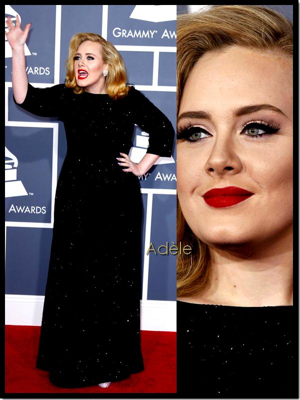 Awards : Grammy Awards 2012 ! ( suite du red carpet )