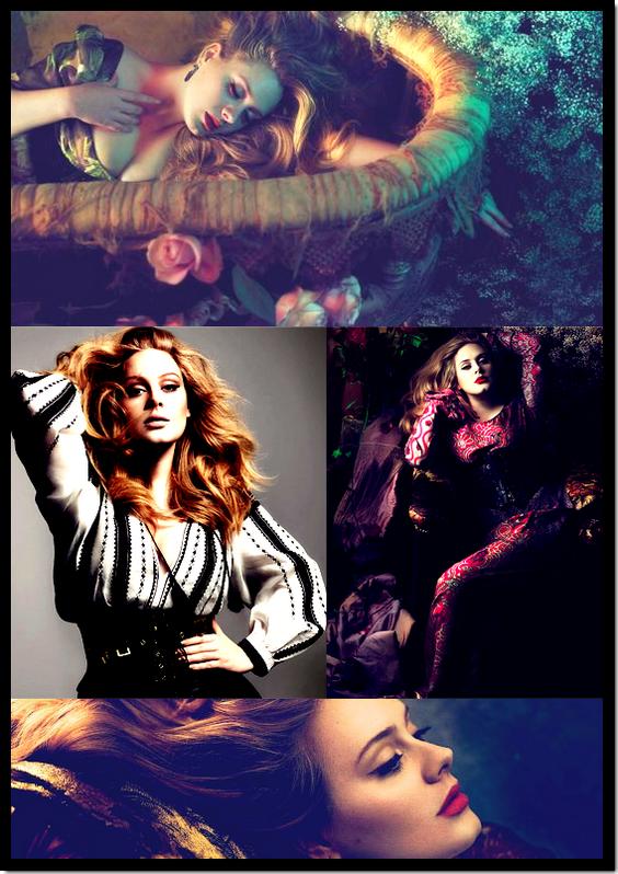 Adele : Elle fait la couverture du célèbre magazine Vogue de l'édition mars 2012 !