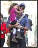 Gabriel Aubry et sa fille Nahla au Zoo ! Troop chou !