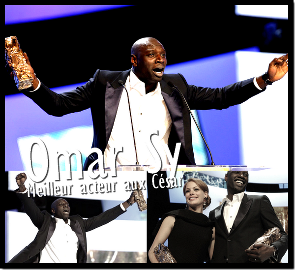 Omar Sy a été sacré meilleur acteur aux César !