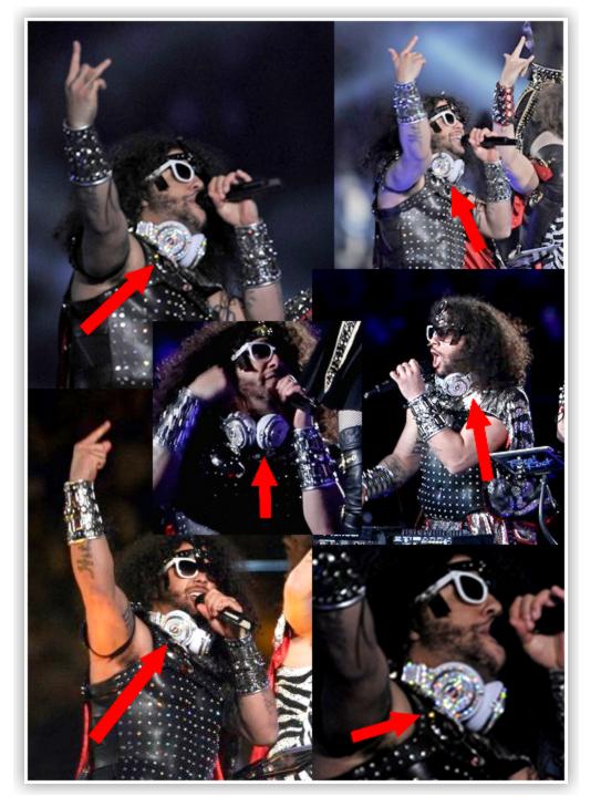 Casque Beats by Dre : Dans l'article précédent, je vous parlais de Nicki Minaj embrassant Lil Wayne et vous aurez sûrement remarquer le casque Beats by Dre incrusté de diamant de Weezy que l'on a aussi pu voir sur l'un des membres de LMFAO lors du superbowl ! Eh bien le prix de ce casque Crystal Rocked est de 1 millions de dollars ! A ce prix là, ça ne serait pas étonnat que ce casque n'appartiennent pas à ces 2 stars mais à Beats Audio .