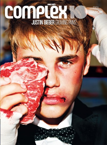 J'AIME : Justin Bieber pour le magazine Complex !