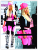 Nicki Minaj à l'aéroport d'Heathrow à Londres !