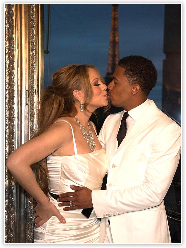 Mariah Carey & Nick Cannon ont renouvelés leur voeux à l'occasion de leur 4 ans de mariage, à Paris, au sommet de la Tour Eiffel !