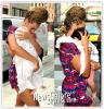 Beyonce ( avec des braids ! ) a été aperçu avec sa fille Blue Ivy ( 7 mois ) à New-York ! Une photo de Blue Ivy sans couverture sur la tête a été posté sur Twitter !