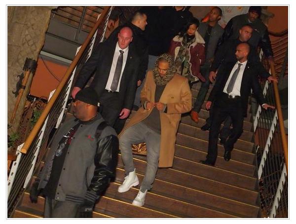 Rihanna et Chris Brown aperçu ensemble à Berlin pour Thanksgiving