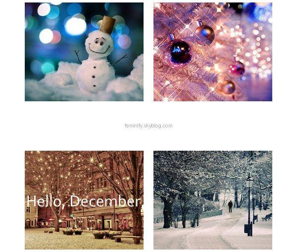 Hello Decembre !