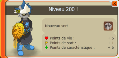 Un level 200 dans la team ! :p