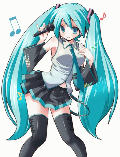 Personnages - Miku Hatsune 01