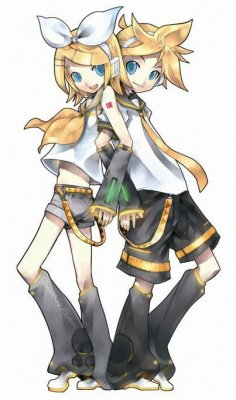 Personnages - Rin & Len Kagamine 02