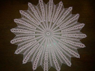 je creais tout met napperon dimension 39 cm