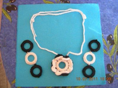 boucle d oreille et collier