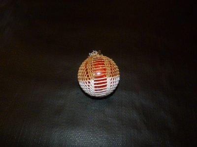 boule transparent 7 cm