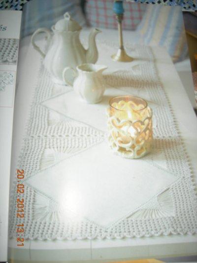 les farandoles des carrées dimensions 100 cm sur 34 cm