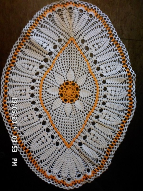 blanc et orange