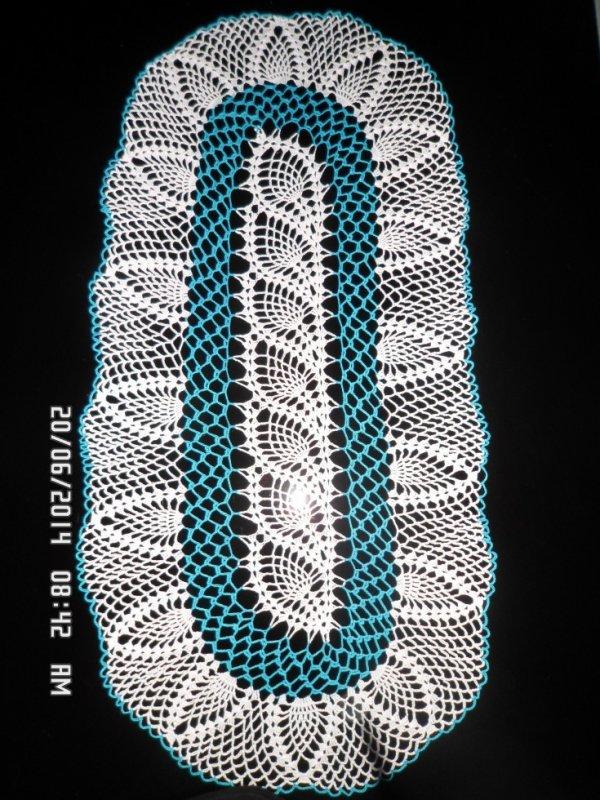 blanc et bleu turquoise