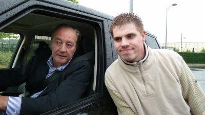Moi avec Gervais MARTEL