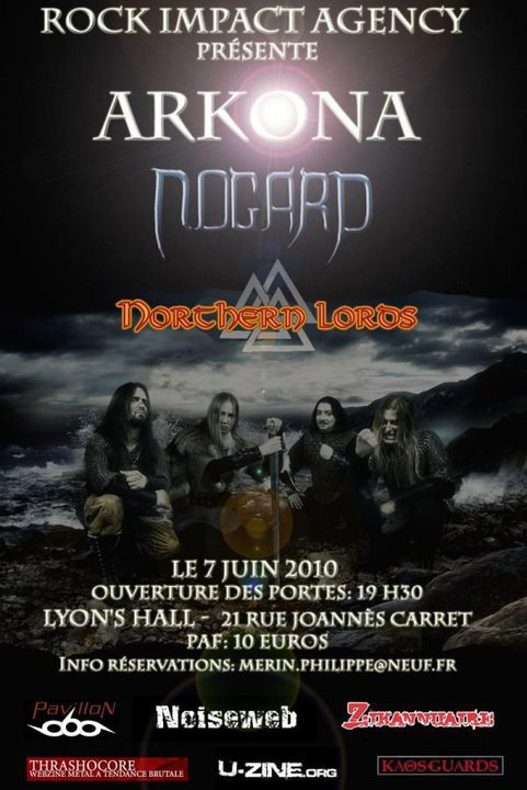 ARKONA + NORTHERN LORDS + NOGARD