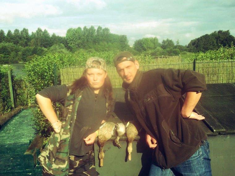 Mes copains de chasse ! <3.