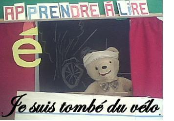 apprendre à lire le son é ou e accent aigu en français en s'amusant avec petit ours cp cm2