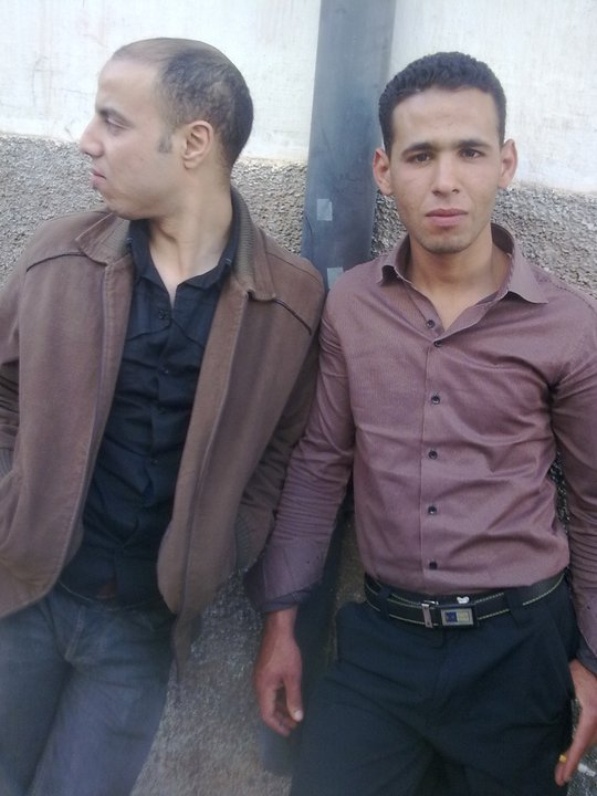 moi, et hassan du (groupe isa3din )