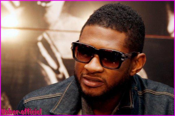 """Artiiiiiicle 14:  Usher de créer des """"révolutionnaires"""" de son nouvel album : 20 Février 2011"""