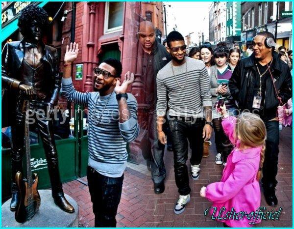Artiiiiiicle 22:  Usher a Dublin.:   26 Février 2011