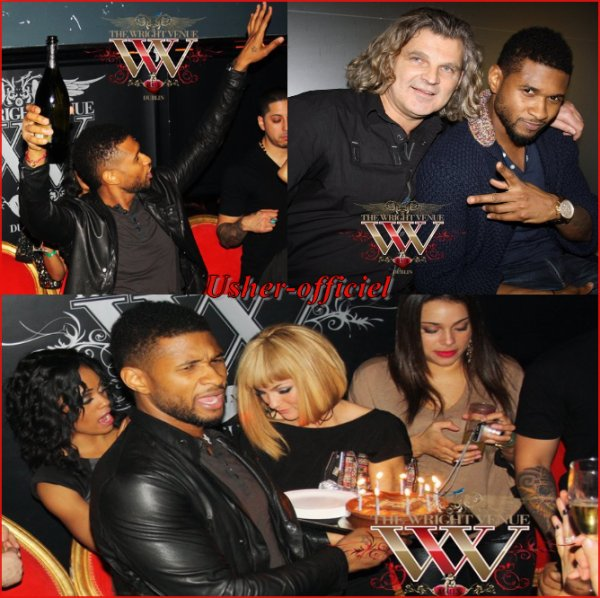 Artiiiiiicle 25:   Usher ♥ ( invité ) anniversaire, Dublin..:   2 mars 2011