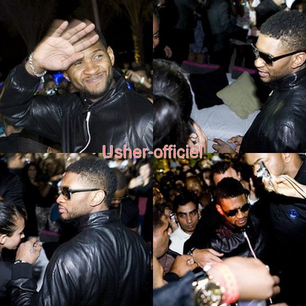 Artiiiiiicle 45:  Usher after-party at Nasimi . .  Mars 2011