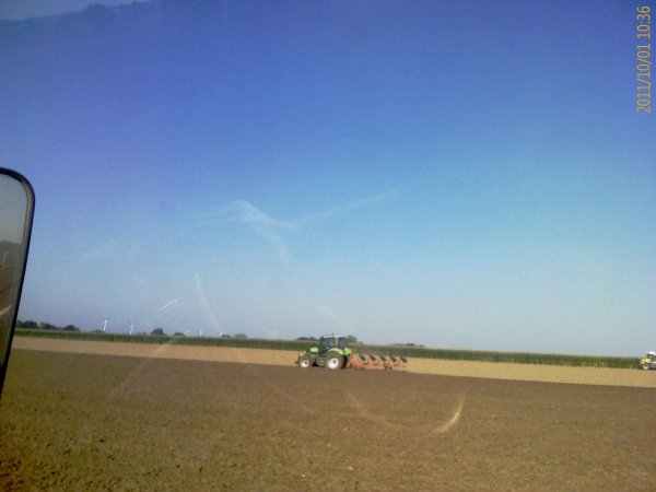 Ensilage de maïs 2011 - ETA COLIN-LAMONT