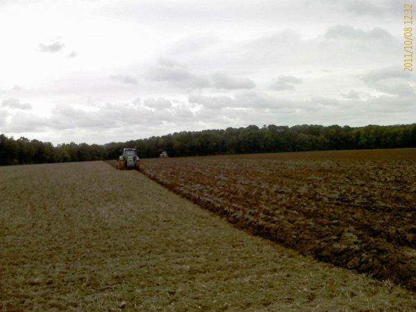 Semis blé 8 octobre 2011 (1ère partie)