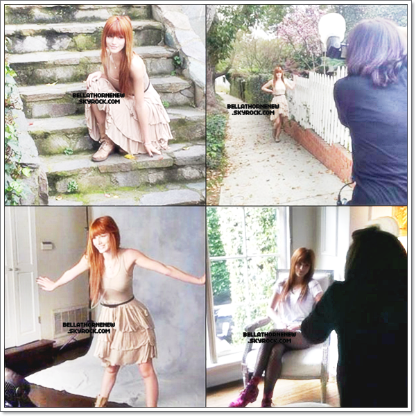 Plein de photo de photoshoot de Bella etc...