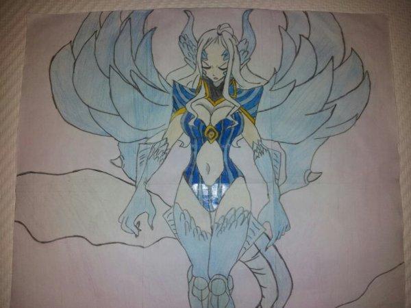 mon dessin de Mirajane Halpha