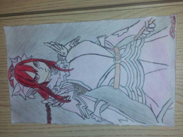 Erza : Armure des fées.