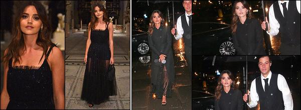 29 janvier 2019 : Jenna était à la Christian Dior : Designer Of Dreams Exhibition au musée Victoria & Albert, à Londres. Pour l'occasion, Jenna porte une robe du créateur. Elle est jolie comme tout dans cette tenue. Malheureusement, nous avons peu de photos de l'actrice..