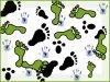 Combien y a-t-il de traces de pieds ???