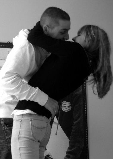 L'homme de ma vie,l'amour de mes jours le seule que j'ai promis d'aimer jusqu'a la fin de ma vie je t'aime .. <3