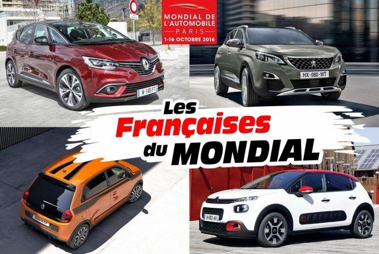 Le mondial de l'automobile à Paris en octobre 2016.