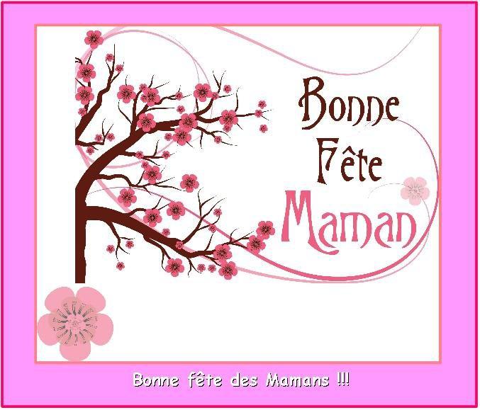 Bonne fête Maman! ;-)
